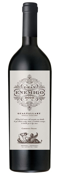 Bodega Aleanna Gran Enemigo Single Vineyard Gualtallary 2014