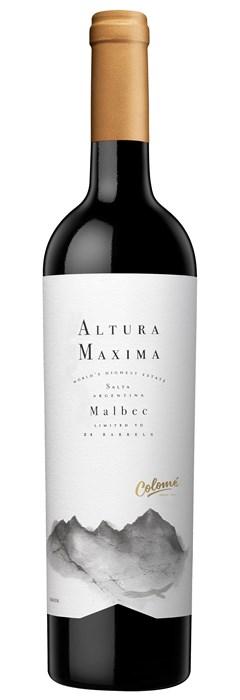Bodega Colome Altura Maxima Malbec 2016