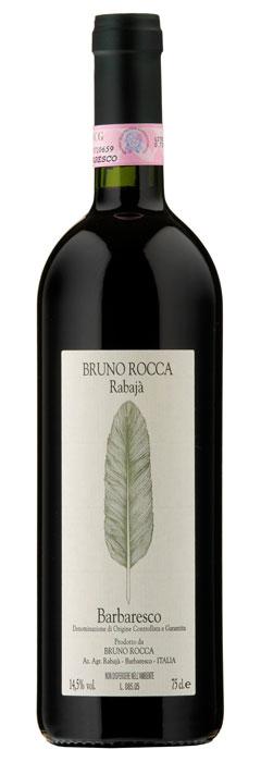 Bruno Rocca Barbaresco Rabajà 2016