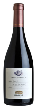 Errazuriz Aconcagua Costa Single Vineyard Syrah 2015