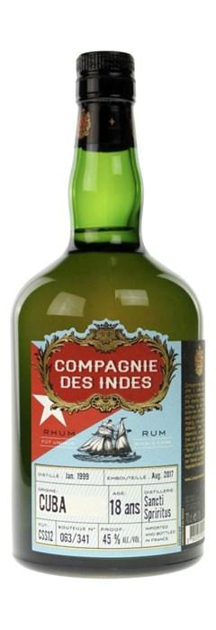 Compagnie des Indes Cuba 18 Ans Sancti Spiritus
