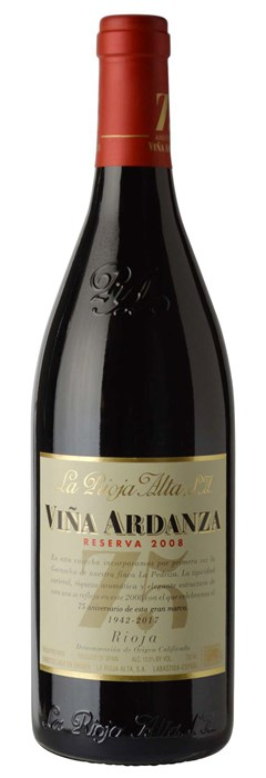 La Rioja Alta Vina Ardanza Seleccion Especial 2010