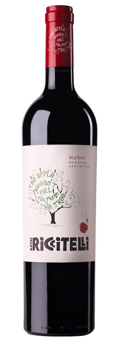 Matias Riccitelli The Apple Doesn't Fall Far From The Tree Malbec 2016