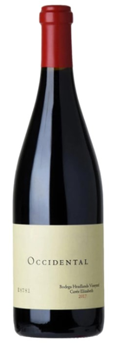 Occidental Bodega Headlands Cuvée Elizabeth - Pinot Noir 2017