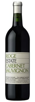 Ridge Vineyards Estate Cabernet 2016