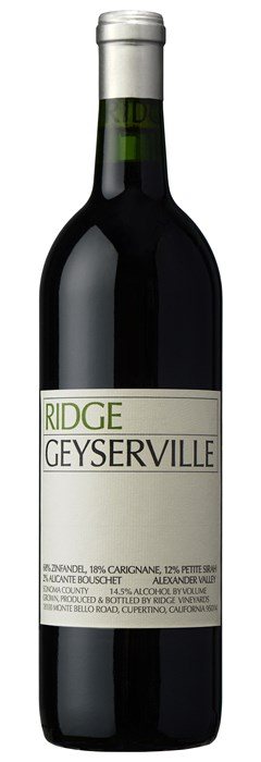 Ridge Vineyards Geyserville 2017