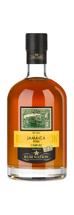 Rum Nation Jamaica 5 Years Old Pot Still Sherry Finish Oloroso