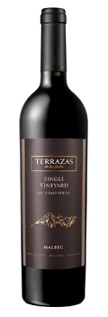 Terrazas de los Andes Single Vineyard Malbec 2014