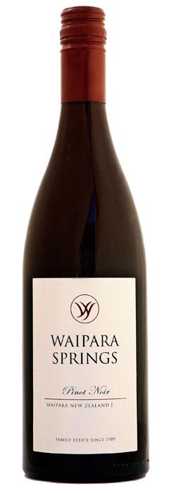 Waipara Springs Pinot Noir 2018