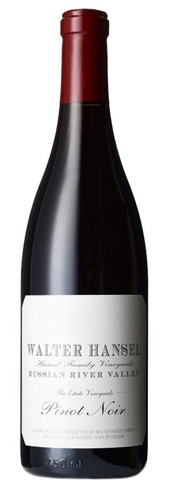 Walter Hansel Estate Pinot Noir 2016